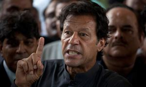 Holding match in curfew-like situation not good for country's image: Imran