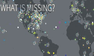 What is missing? Global memorial to the planet