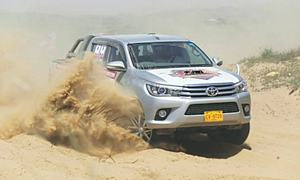 Asad, Usman, Aamir and Tushna bag titles in Hub Rally Cross
