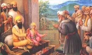 تیغ بہادر اور اورنگزیب کی کہانی سے مغل-سکھ تاریخ اخذ ہوتی ہے