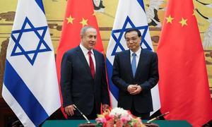 China warmly welcomes Israel's prime minister after Saudi king's visit