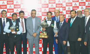 Sajjad ends seven-year itch to land National Snooker title