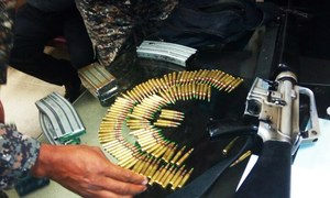 ASF foils suspected terror bid, seizes weapon cache at Lahore airport