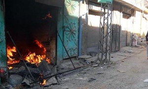 Meat shops set ablaze in India's Uttar Pradesh days after radical chief minister took charge
