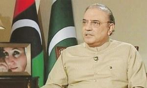 Haqqani didn't have authority to issue visas, says Zardari