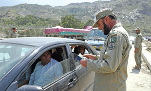 Restrictions affect cross-border movement at Torkham