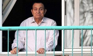 Ousted Egyptian president Hosni Mubarak freed from detention: lawyer
