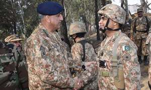 Fencing of Pak-Afghan border has commenced, says army chief