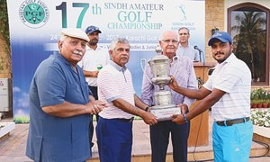 Taimur makes it to the top of Sindh amateur golf