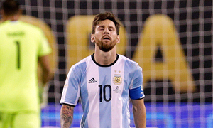 Foul-mouthed Messi banned for four Argentina games
