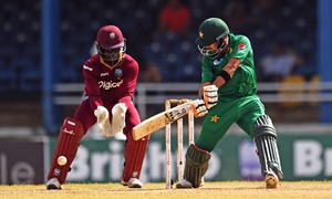 Steady Shehzad guides Pakistan to series win against West Indies