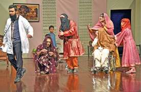 Performers highlight social issues