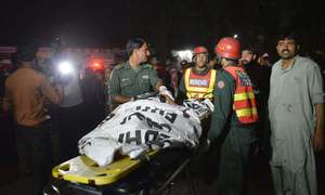 Lahore blast handler among 10 killed