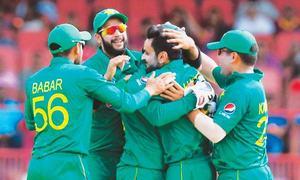Pakistan bounce back to beat Windies, level series