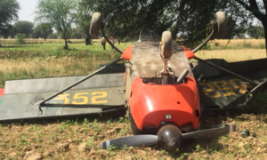 Pak Army training aircraft crash-lands near Jhelum due to 'technical failure'