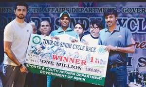 Brilliant cyclist Naeem wins Tour de Sindh in style