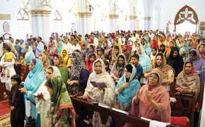 Easter celebrated amid tight security in Peshawar