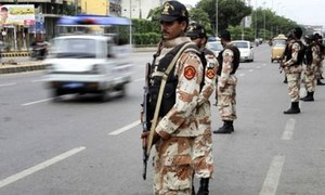 Sindh govt extends Rangers powers in Karachi for 90 days