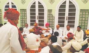 Jaipur royal family celebrates birth of heir