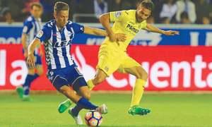 Alaves beat Villarreal to end losing streak