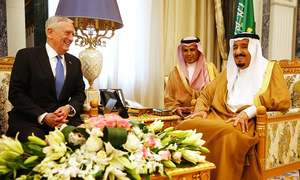 US Pentagon chief meets Saudi king with Iran in focus