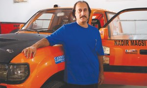 Private sector support can help Pakistan's motor sport talent to blossom: Nadir Magsi