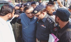 Dr Asim fearful for his life after being followed, threatened in Karachi: police