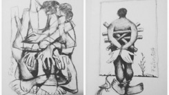 Cartoonist Feica shows paintings and drawings at 'Inextricable Love'