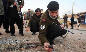 مہمند ایجنسی: بارودی سرنگ کا دھماکا، سیکیورٹی اہلکار جاں بحق