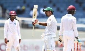 کنگسٹن ٹیسٹ: پاکستان کی پوزیشن مستحکم
