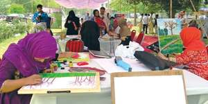37 youngsters take part in painting contest