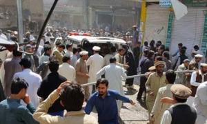 کرم ایجنسی میں بارودی سرنگ کا دھماکا، 14 جاں بحق