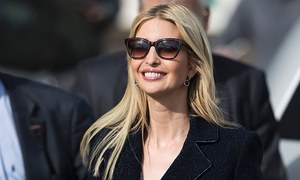 Ivanka Trump defends father, brushes aside criticisms in Berlin