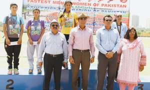 Ubaid Rehman, Shab-e-Asra declared fastest man, woman