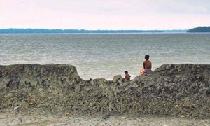 Govt stays silent as tides swallow up parts of coastal village