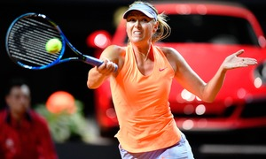 Sharapova gets lukewarm welcome after 15-month doping ban