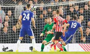 Costa ends goal drought to give Chelsea breathing room