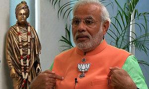 BJP sweeps  Delhi municipality polls, calls it  Modi wave