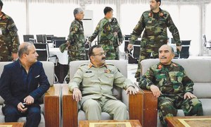 Pakistan military team discusses security during visit to Kabul