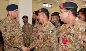 COAS visits Gujranwala Garrison