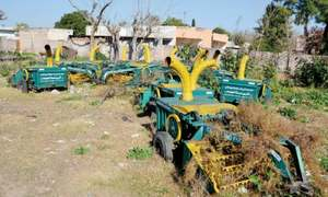 11 years on, Chakwal admin fails to utilise agricultural implements