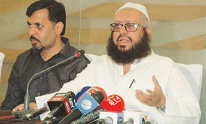 Mufti Naeem asks citizens to unite after meeting Kamal