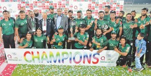 Hafeez, Sami inspire Federal Areas to Pakistan Cup glory