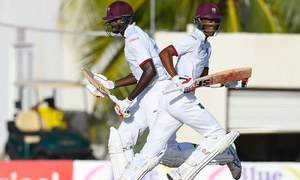 Ton-up Chase, Holder give West Indies edge in second Pakistan Test