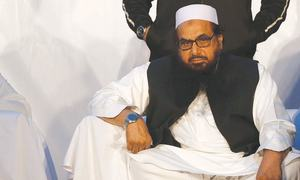 Hafiz Saeed's house arrest extended for three more months