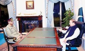 Sharif, Bajwa hold meeting