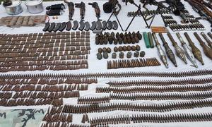 Security forces recover explosives near Pak-Afghan border