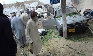 28 killed as Deputy Chairman Senate Haideri's convoy hit by explosion in Mastung