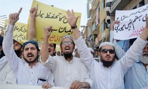 JUI-F rallies in KP, tribal areas condemn Mastung attack