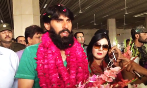 Misbah gets hero's welcome in Lahore: 'We have accomplished what teams across the world only dream of'